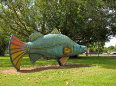 The Big Barramundi - Wanguri Primary School, Darwin.