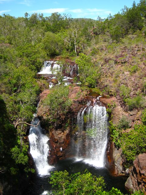 Florence Falls in Litchfield National Park: Northern Territory.
